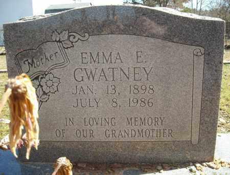 GWATNEY, EMMA E. - Faulkner County, Arkansas   EMMA E. GWATNEY - Arkansas Gravestone Photos