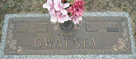 GWATNEY, JEFF DAVIS - Faulkner County, Arkansas | JEFF DAVIS GWATNEY - Arkansas Gravestone Photos