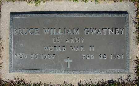 GWATNEY (VETERAN WWII), BRUCE WILLIAM - Faulkner County, Arkansas | BRUCE WILLIAM GWATNEY (VETERAN WWII) - Arkansas Gravestone Photos