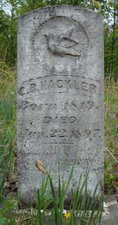 HACKLER, C.B. - Faulkner County, Arkansas   C.B. HACKLER - Arkansas Gravestone Photos