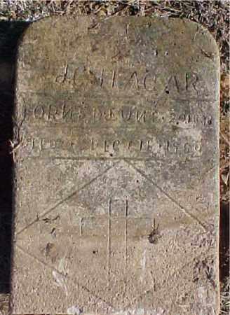 HAGAR, JOHN COLUMBUS - Faulkner County, Arkansas | JOHN COLUMBUS HAGAR - Arkansas Gravestone Photos