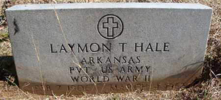 HALE (VETERAN WWII), LAYMON T - Faulkner County, Arkansas   LAYMON T HALE (VETERAN WWII) - Arkansas Gravestone Photos