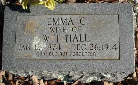 HALL, EMMA C. - Faulkner County, Arkansas   EMMA C. HALL - Arkansas Gravestone Photos