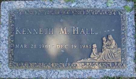 HALL, KENNETH M. - Faulkner County, Arkansas | KENNETH M. HALL - Arkansas Gravestone Photos