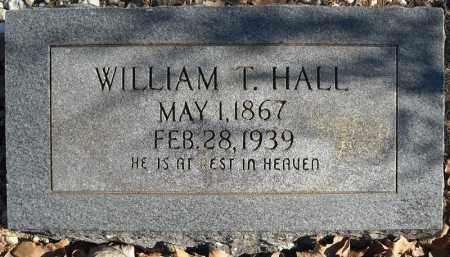 HALL, WILLIAM T. - Faulkner County, Arkansas | WILLIAM T. HALL - Arkansas Gravestone Photos