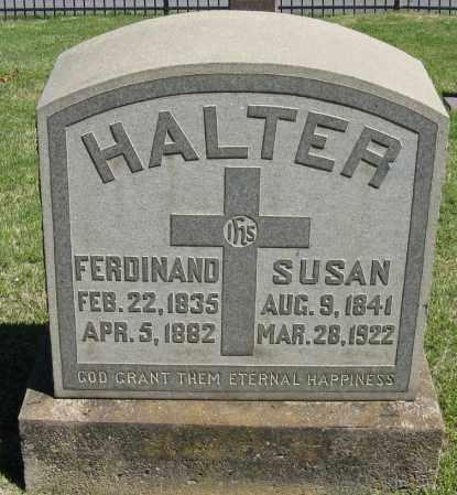 HALTER, SUSAN - Faulkner County, Arkansas | SUSAN HALTER - Arkansas Gravestone Photos