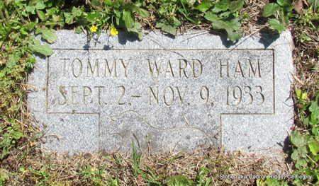 HAM, TOMMY WARD - Faulkner County, Arkansas   TOMMY WARD HAM - Arkansas Gravestone Photos