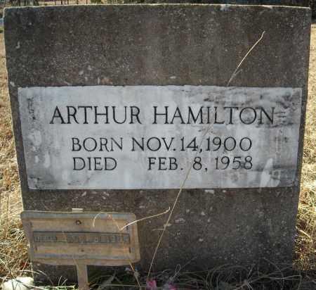 HAMILTON, ARTHUR - Faulkner County, Arkansas | ARTHUR HAMILTON - Arkansas Gravestone Photos