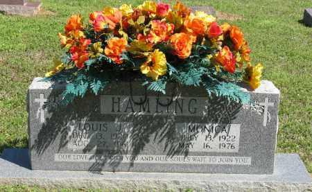 HAMLING, LOUIS J. - Faulkner County, Arkansas | LOUIS J. HAMLING - Arkansas Gravestone Photos