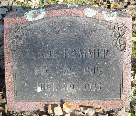 HAMMER, ESADE - Faulkner County, Arkansas | ESADE HAMMER - Arkansas Gravestone Photos