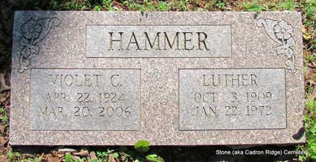 HAMMER, LUTHER - Faulkner County, Arkansas | LUTHER HAMMER - Arkansas Gravestone Photos