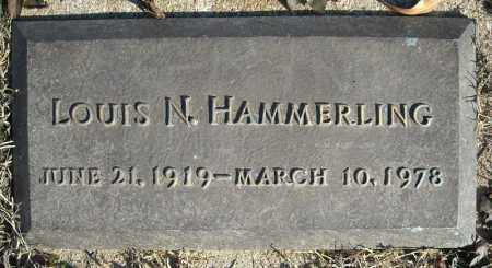 HAMMERLING, LOUIS N. - Faulkner County, Arkansas | LOUIS N. HAMMERLING - Arkansas Gravestone Photos