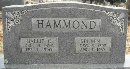 HAMMOND, HALLIE C. - Faulkner County, Arkansas   HALLIE C. HAMMOND - Arkansas Gravestone Photos
