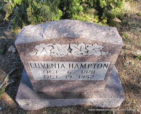 HAMPTON, LUVENIA - Faulkner County, Arkansas   LUVENIA HAMPTON - Arkansas Gravestone Photos