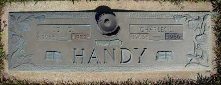 HANDY, JOY G. - Faulkner County, Arkansas | JOY G. HANDY - Arkansas Gravestone Photos