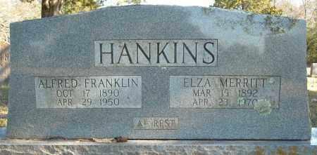MERRITT HANKINS, ELZA - Faulkner County, Arkansas | ELZA MERRITT HANKINS - Arkansas Gravestone Photos