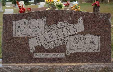 HANKINS, OSCO H. - Faulkner County, Arkansas   OSCO H. HANKINS - Arkansas Gravestone Photos
