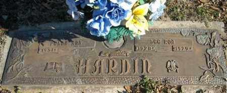 HARDIN, LEE ROY - Faulkner County, Arkansas | LEE ROY HARDIN - Arkansas Gravestone Photos