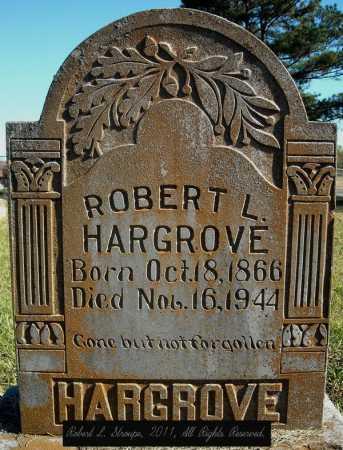 HARGROVE, ROBERT L. - Faulkner County, Arkansas   ROBERT L. HARGROVE - Arkansas Gravestone Photos