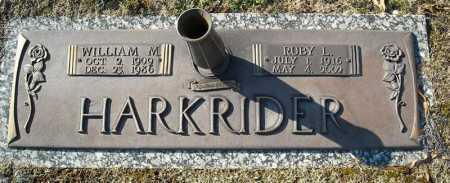 HARKRIDER, WILLIAM M. - Faulkner County, Arkansas | WILLIAM M. HARKRIDER - Arkansas Gravestone Photos