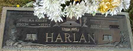 HARLAN, THELMA - Faulkner County, Arkansas | THELMA HARLAN - Arkansas Gravestone Photos