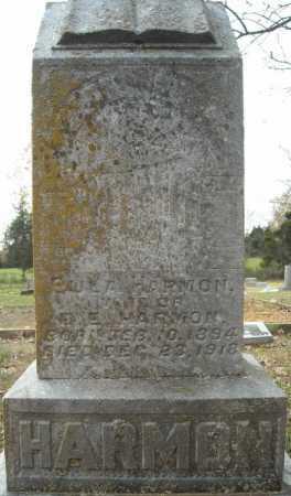 HARMON, EULA - Faulkner County, Arkansas   EULA HARMON - Arkansas Gravestone Photos