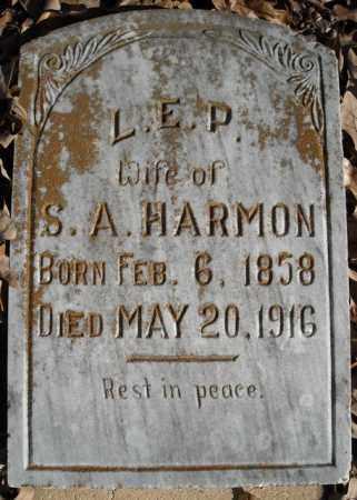 HARMON, L.E.P. - Faulkner County, Arkansas   L.E.P. HARMON - Arkansas Gravestone Photos