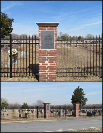 *HARMONY CEMETERY SIGN,  - Faulkner County, Arkansas |  *HARMONY CEMETERY SIGN - Arkansas Gravestone Photos