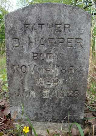 HARPER, D. - Faulkner County, Arkansas   D. HARPER - Arkansas Gravestone Photos