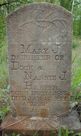 HARPER, MARY J. - Faulkner County, Arkansas   MARY J. HARPER - Arkansas Gravestone Photos