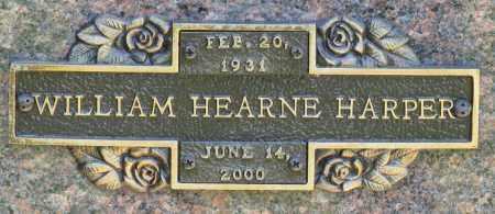 HARPER, WILLIAM HEARNE - Faulkner County, Arkansas | WILLIAM HEARNE HARPER - Arkansas Gravestone Photos