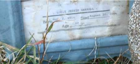 HARRELL, LOUIS JESSIE - Faulkner County, Arkansas | LOUIS JESSIE HARRELL - Arkansas Gravestone Photos