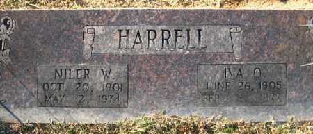 HARRELL, NILER W. - Faulkner County, Arkansas | NILER W. HARRELL - Arkansas Gravestone Photos