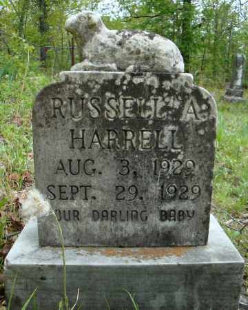 HARRELL, RUSSELL A. - Faulkner County, Arkansas | RUSSELL A. HARRELL - Arkansas Gravestone Photos