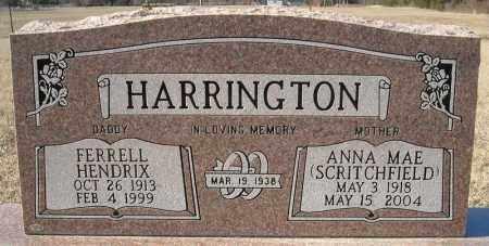 HARRINGTON, ANNA MAE - Faulkner County, Arkansas | ANNA MAE HARRINGTON - Arkansas Gravestone Photos