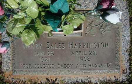 HARRINGTON, HENRY SALES - Faulkner County, Arkansas | HENRY SALES HARRINGTON - Arkansas Gravestone Photos