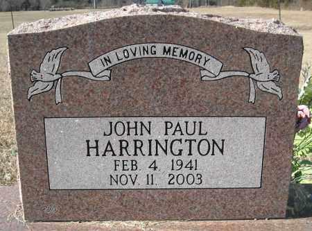 HARRINGTON (VETERAN), JOHN PAUL - Faulkner County, Arkansas | JOHN PAUL HARRINGTON (VETERAN) - Arkansas Gravestone Photos