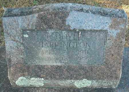 HARRINGTON, L. DOYLE - Faulkner County, Arkansas | L. DOYLE HARRINGTON - Arkansas Gravestone Photos