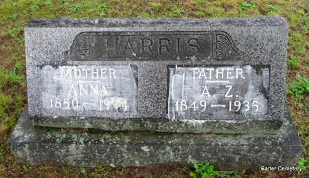 HARRIS, ANNA - Faulkner County, Arkansas | ANNA HARRIS - Arkansas Gravestone Photos
