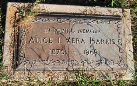 HARRIS, ALICE I. VERA - Faulkner County, Arkansas   ALICE I. VERA HARRIS - Arkansas Gravestone Photos