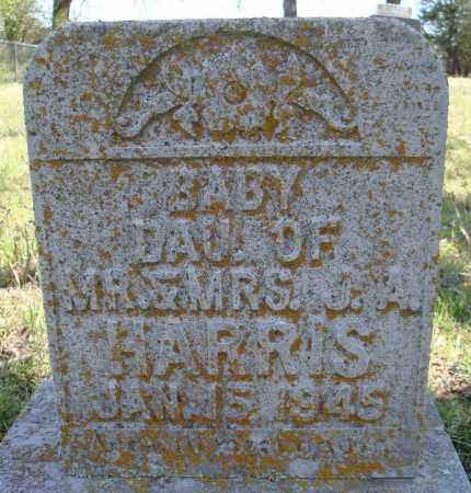 HARRIS, BABY DAUGHTER - Faulkner County, Arkansas   BABY DAUGHTER HARRIS - Arkansas Gravestone Photos