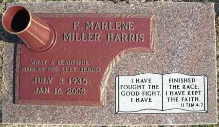 MILLER HARRIS, F. MARLENE - Faulkner County, Arkansas | F. MARLENE MILLER HARRIS - Arkansas Gravestone Photos