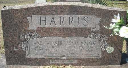 HARRIS, JAMES WEAVER - Faulkner County, Arkansas | JAMES WEAVER HARRIS - Arkansas Gravestone Photos