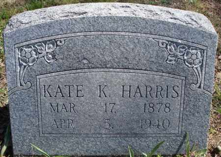 HARRIS, KATE K. - Faulkner County, Arkansas | KATE K. HARRIS - Arkansas Gravestone Photos