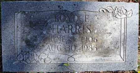 HARRIS, LOYD E. - Faulkner County, Arkansas | LOYD E. HARRIS - Arkansas Gravestone Photos