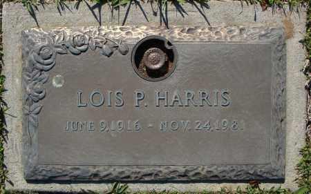 HARRIS, LOIS P. - Faulkner County, Arkansas   LOIS P. HARRIS - Arkansas Gravestone Photos