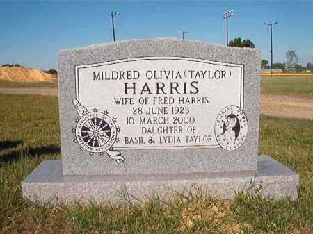 TAYLOR HARRIS, MILDRED OLIVIA - Faulkner County, Arkansas | MILDRED OLIVIA TAYLOR HARRIS - Arkansas Gravestone Photos