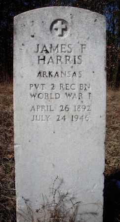 HARRIS (VETERAN WWI), JAMES F - Faulkner County, Arkansas | JAMES F HARRIS (VETERAN WWI) - Arkansas Gravestone Photos