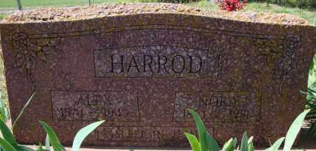 HARROD, NORA - Faulkner County, Arkansas | NORA HARROD - Arkansas Gravestone Photos