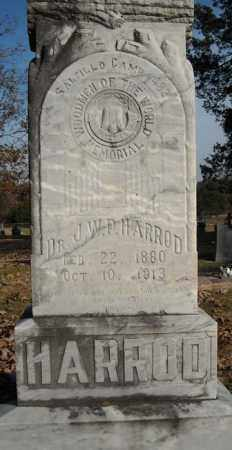 HARROD, DR., J.W.P. - Faulkner County, Arkansas | J.W.P. HARROD, DR. - Arkansas Gravestone Photos